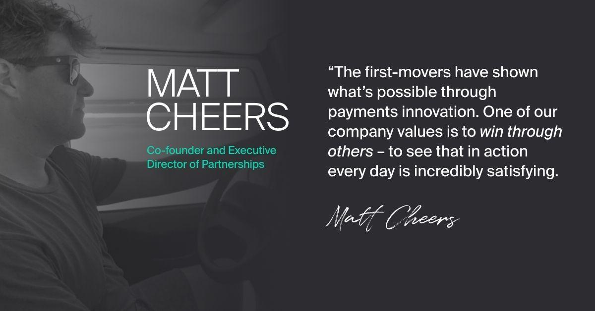 Matt Cheers - it's time
